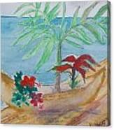 Kayuco Planter Sketch Canvas Print