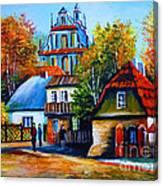 Kazimierz Dolny In Fall Canvas Print