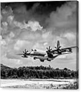 Kc-130 Approach Canvas Print