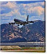 Kc-135 Take Off Canvas Print