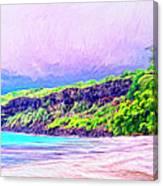 Kealakekua Morning Canvas Print