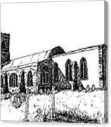 Kedington Church Canvas Print
