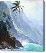 Ke'e Beach Canvas Print
