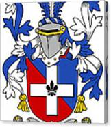 Keenan Coat Of Arms Irish Canvas Print