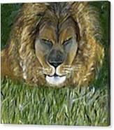 Keep Off The Grass Canvas Print