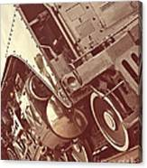 Keep On Rolling Canvas Print