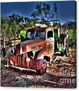 Keep On Truckin Canvas Print