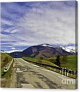 Keep On Trucking Canvas Print