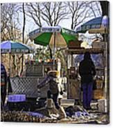 Keep Park Clean - Central Park - Nyc Canvas Print
