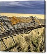 Keep The Gate Post Steady Canvas Print