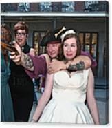 Keira's Destination Wedding - The Pirate Part Canvas Print