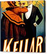 Kellar Toasts The Devil Canvas Print