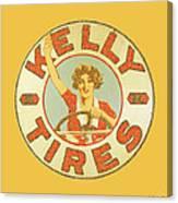 Kelly Tires  Canvas Print
