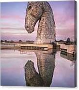 Kelpie At Dawn Canvas Print