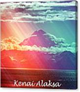 Kenai Alaska Mount Redoubt Canvas Print