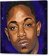 Kendrick Had A Dream Canvas Print