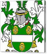 Kennagh Coat Of Arms Irish Canvas Print