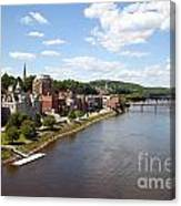 Kennebec River Canvas Print