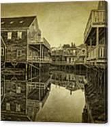 Kennebunkport Dock Square Canvas Print