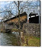 Kennedy Covered Bridge - Chester County Pa Canvas Print