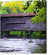 Kennedy Covered Bridge - Kimberton Pa. Canvas Print