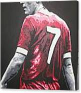 Kenny Dalglish - Liverpool Fc 2 Canvas Print
