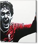 Kenny Dalglish - Liverpool Fc Canvas Print