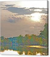 Kensington Autumn Sunset Canvas Print