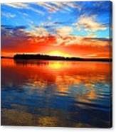 Kensington Sunset Canvas Print