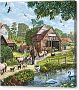 Kentish Farmer Canvas Print