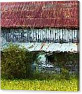 Kentucky Barn In Summer Canvas Print