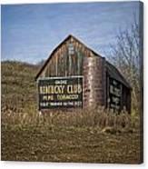 Kentucky Club Barn Canvas Print
