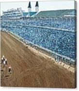 Kentucky Derby - Horse Race Canvas Print