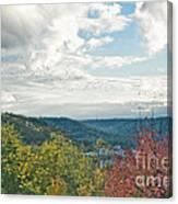 Kentucky Mountains In Autumn Canvas Print