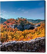 Kentucky - Natural Arch Scenic Area Canvas Print
