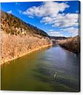 Kentucky River Palisades Canvas Print