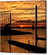 Kentucky Sunset Canvas Print