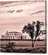 Kentucky - United States Bullion Depository Fort Knox Canvas Print