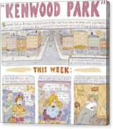 Kenwood Park Canvas Print