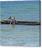 Kenyan Fishermen Canvas Print