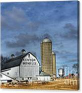 Kenyon Brothers Dairy Canvas Print