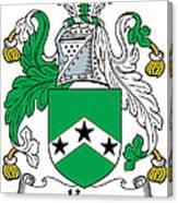 Ker Coat Of Arms Irish Canvas Print
