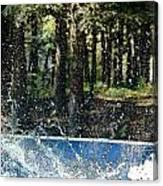 Ker Splash  Canvas Print