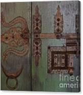 Kerala Door Canvas Print