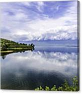 Kerkini Lake View. Canvas Print