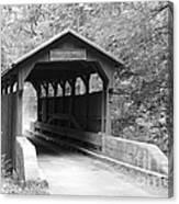 Herns Mill Bridge Canvas Print