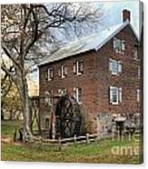 Kerr Grist Mill Canvas Print