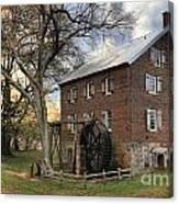 Kerr Grist Mill At Sloan Park Canvas Print