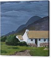 Kerry Cottage Canvas Print