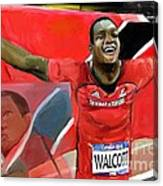 Keshorn Walcott Canvas Print